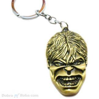 Privezak Hulk Film Incredible Hulk Metalni Privesci za Ključeve