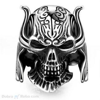 veliki prsten kosturska lobanja za muškarce od čelika koji ne rđa
