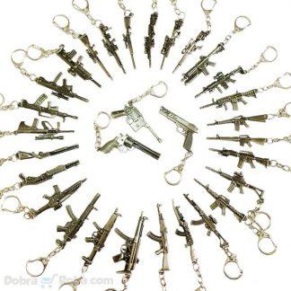 Privesci Puške Pištolji Snajperi Noževi Mačete - Najveći Izbor Hladno i Vatreno Oružje Privesci za Ključeve