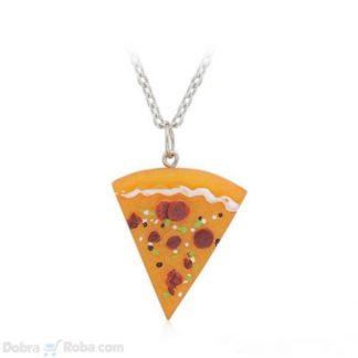 Pica Ogrlica - Ogrlica sa priveskom parče pice
