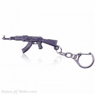 Ak 47 Privezak za Ključeve Puška Kalašnjikov - Kalaš Oružje Privesci iz Igre CS GO Counter Strike Kalasnikov ak47