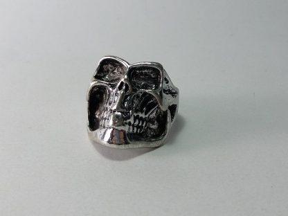 prsten za muškarce kostur sa velikom vilicom
