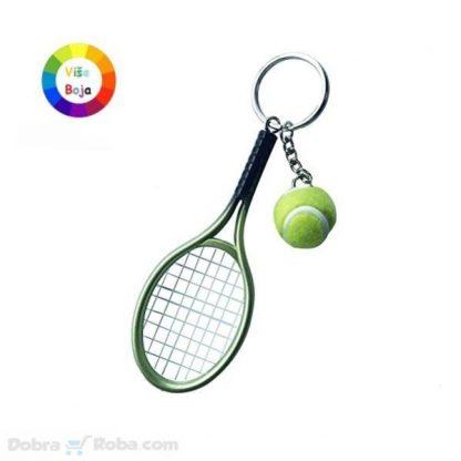 Tenis Privezak za Ključeve
