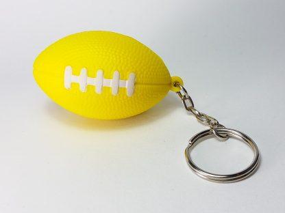 američki fudbal lopta privezak žuta boja