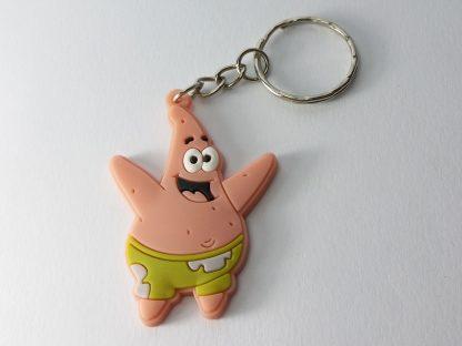 patrik zvezda privezak za ključeve od gume patrick star