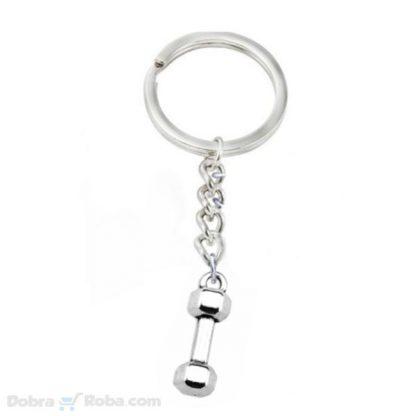 Teg Privezak za Ključeve Teretana Teg za Ruke Privesci