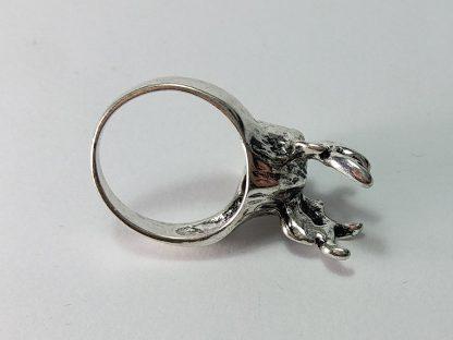 prsten za lovce jelen od nerđajućeg čelika