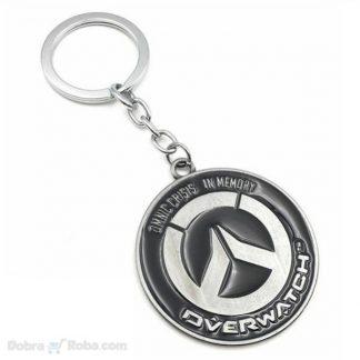 privezak overwatch logo unikatni privezak iz igrice
