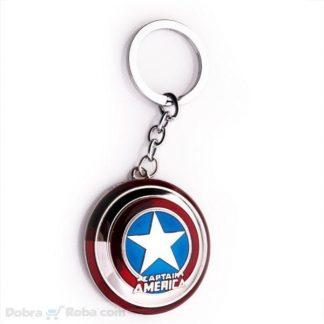 Privezak Kapetan Amerika Štit iz filma Privezak Captain America