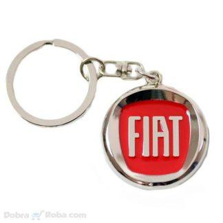 Fiat Privezak za Ključeve Logo Automobila Fiat Punto Bravo 500L Fića Privezak