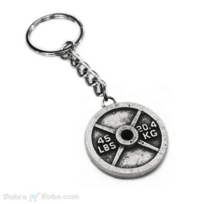 liveni teg privezak za ključeve teretana privesci nakit