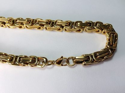 zlatni muški lanac kajla od medicinskog čelika