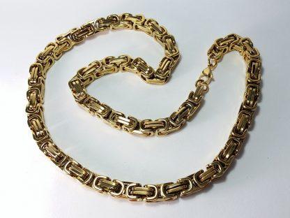 kraljevski rad ogrlica za muškarce od čelika koji ne rđa i ne izaziva alergije