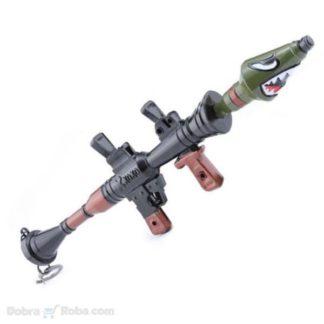 bazuka privezak za ključeve bacač raketa mini bacač zolja privezak