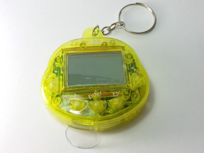 žuti kućni ljubimac igračka tamagoči