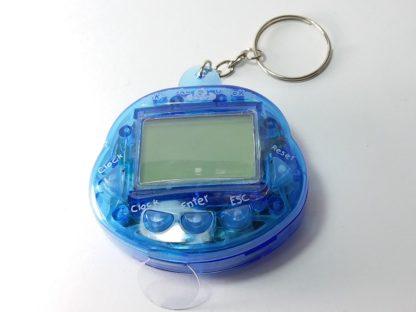 retro igračka virtual pet tamagotchi kućni ljubimac u plavoj boji