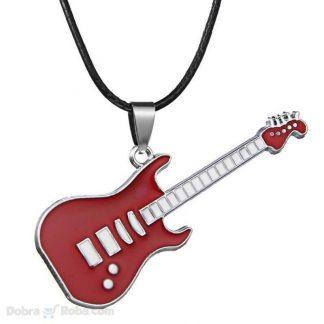 gitara ogrlica za žene i muškarce