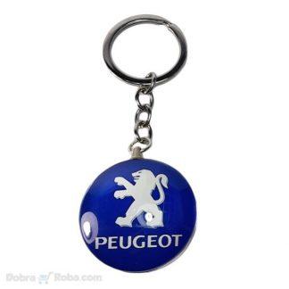 peugeot privezak za ključeve logo znak auta 206 207 privezak 307 407