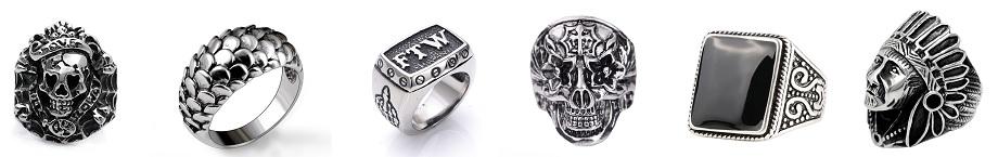 Poklon za dečka muško prstenje od hirurškog nerđajućeg čelika