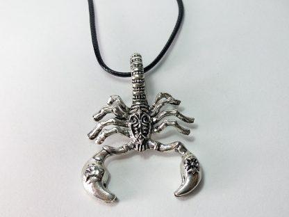 srebrni škorpion muška ogrlica od nerđajućeg čelika