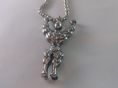 Kvalitetna ogrlica za teretanau gym trening nakit muški unisex