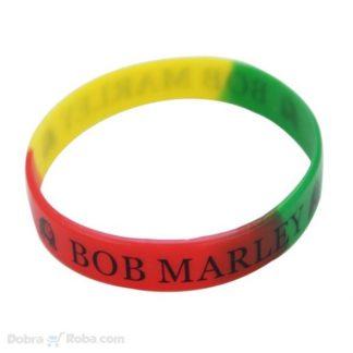Bob Marley Narukvica od Gume Rasta Man Marijuana Narukvice
