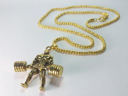ogrlica za muškarce za treniranje od nerđajućeg čelika