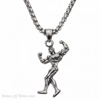 Ogrlica za Teretanu Muška za Nošenje prilikom vežbanja
