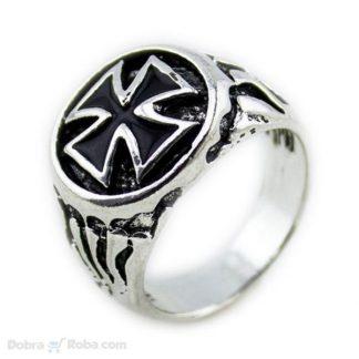 Muški Templarski Prsten od Nerđajućeg Čelika