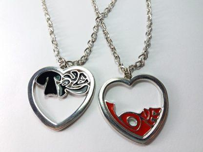 True Love poklon lančići sa privescima dva komada po ceni jednog prava ljubav nakit
