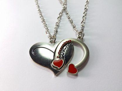 love you potkovca u srcu poklon lančići od čelika