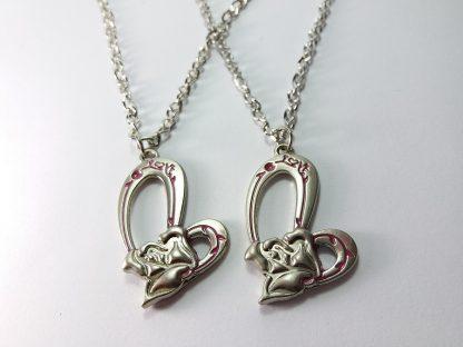 love you ogrlice dve za muža i ženu poklon mladencima idealan izbor samo 450 din