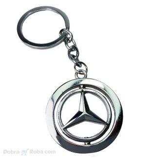 Rotirajući Mercedes Privezak za Ključeve
