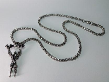 nakit za nošenje u teretani muški od stainless steel čelika