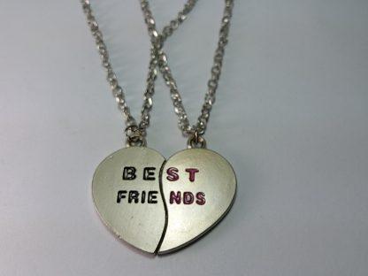 ogrlice best friends poklon za nju i njega rođendan drugarici drugu