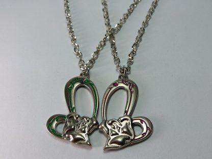 lančić za dečka devojku volim te