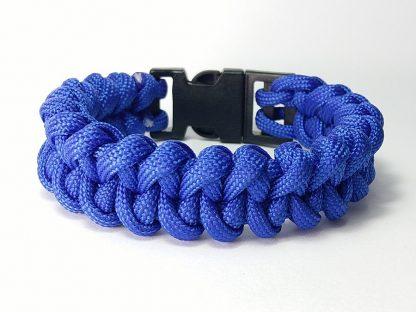muška plava survival narukvica preživljavanje nakit gordijev čvor narukvica