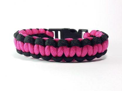 crveno plava unisex narukvica gordijev čvor