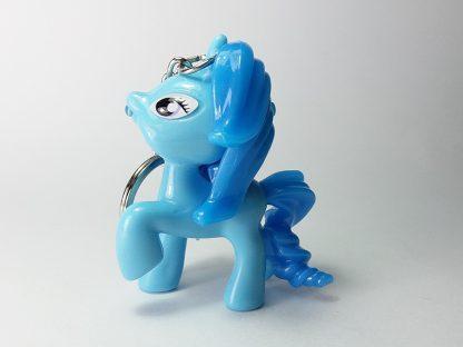 privezak za ključeve plavi poni pony sa led sijalicom