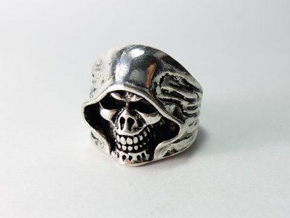 prsten grim reaper za muškarce od čelika koji ne rđa