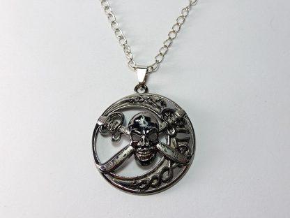 kostur pirat lanac i privezak za muškarce