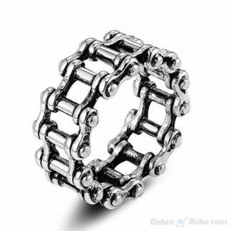 muški prsten lanac motora hirurški čelik