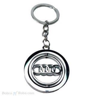rotirajući audi privezak za ključeve