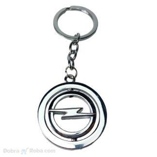 rotirajući opel privezak za ključeve