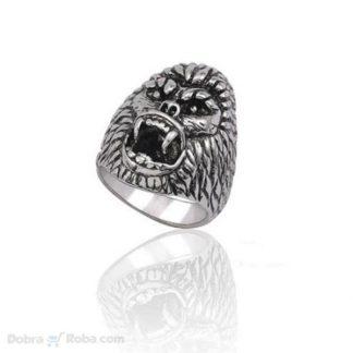 Prsten gorila od nerđajućeg čelika