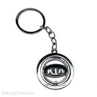rotirajući kia privezak za ključeve
