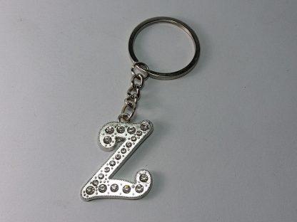 Z slovo privezak za ključeve sa cirkonima