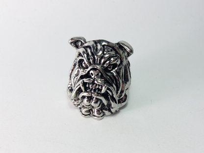 bulldog prsten za muškarce od nerđajućeg čelika