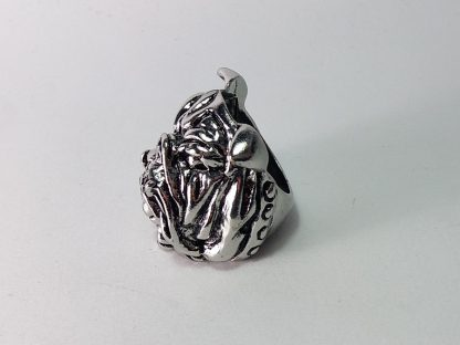 muški prsten bulldog pas ker engleski bulldog britanski