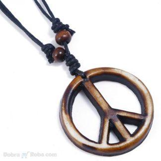 muška ili ženska peace ogrlica unisex